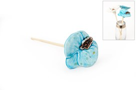 FLOWER WATER BLUE  26CM
