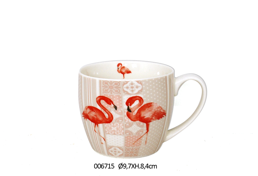 CANECA D.9.7 X 8.4CM 380ML FLAMMY