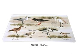 SET TABLE 28X43CM  BIRDY