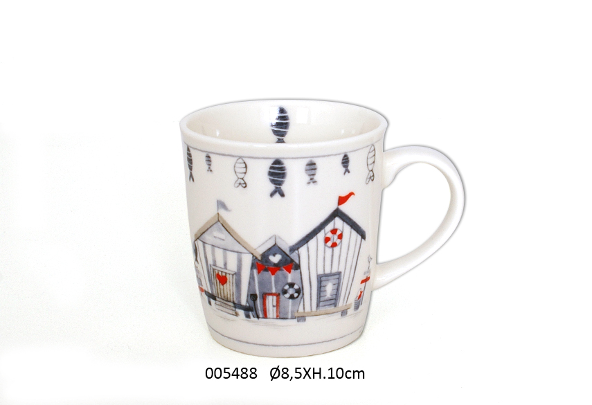 MUG 10CM D.8.5CM  325ML WAVE