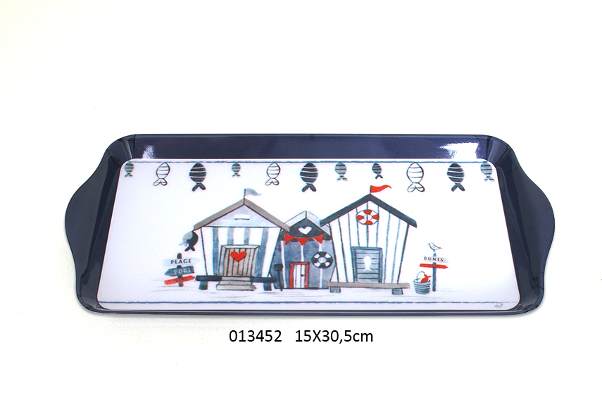 MEAL TRAY 15X30.5CM WAVE