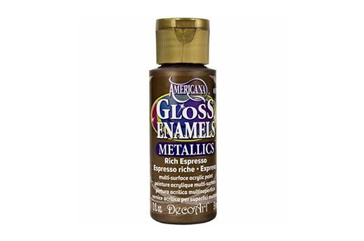 PAINT 59ML DAG245 RICH EXPRESSO GLOSS ENAMELS AMERICANA