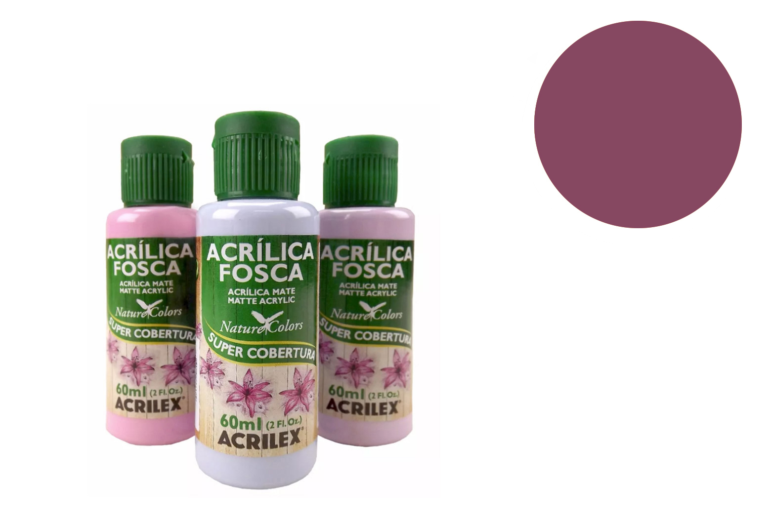 TINTA ACRILICA 60ML NATURE COLORS AMEIXA 03560913 ACRILEX