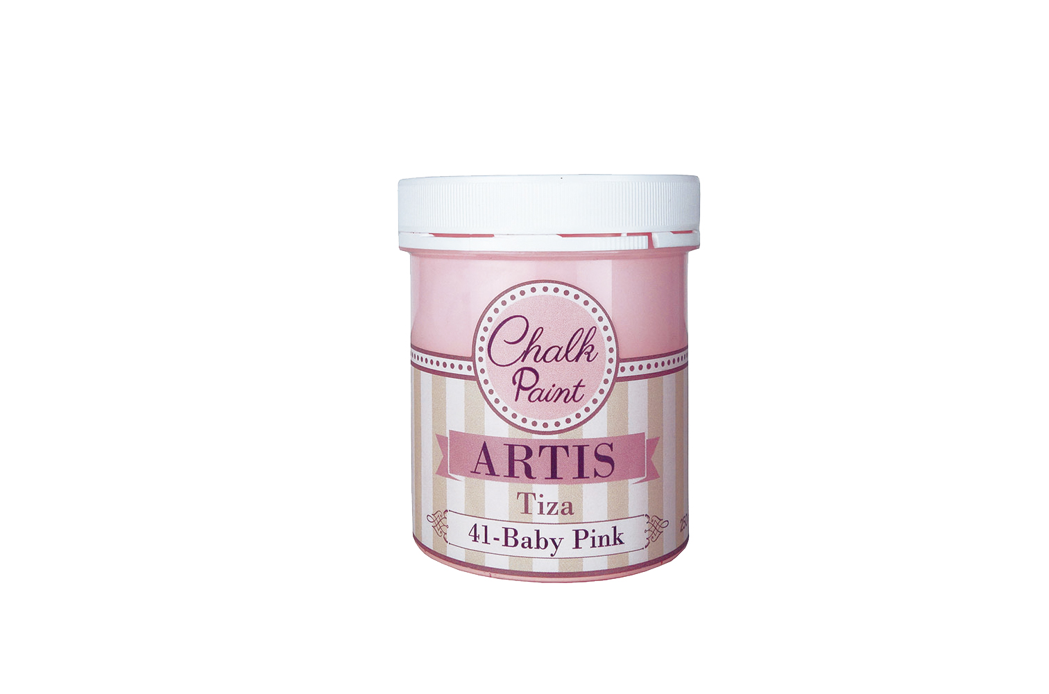 PAINT  250ML BABY PINK  TIZA 041
