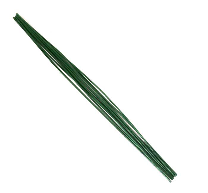 WIRE 40CM X 1.2 MM  GREEN
