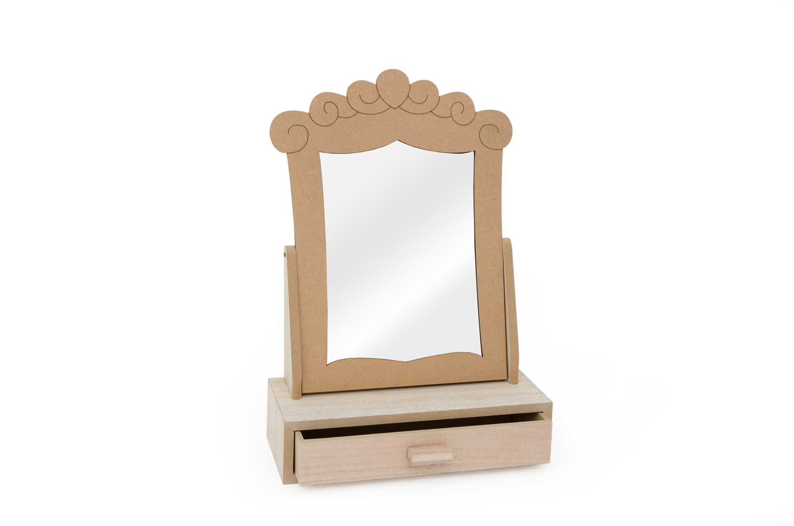 MIRROR W/DRAWER 27.5X11.5X38.5CM