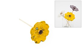 FLOWER YELLOW 26CM