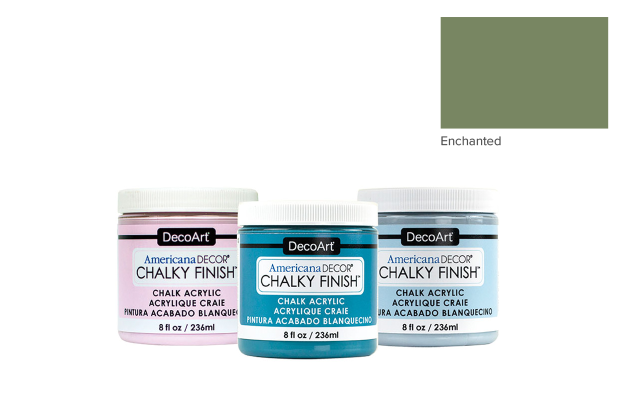 TINTA 236ML ENCHANTED ADC16 CHALKY FINISH AMERICAN DECOR