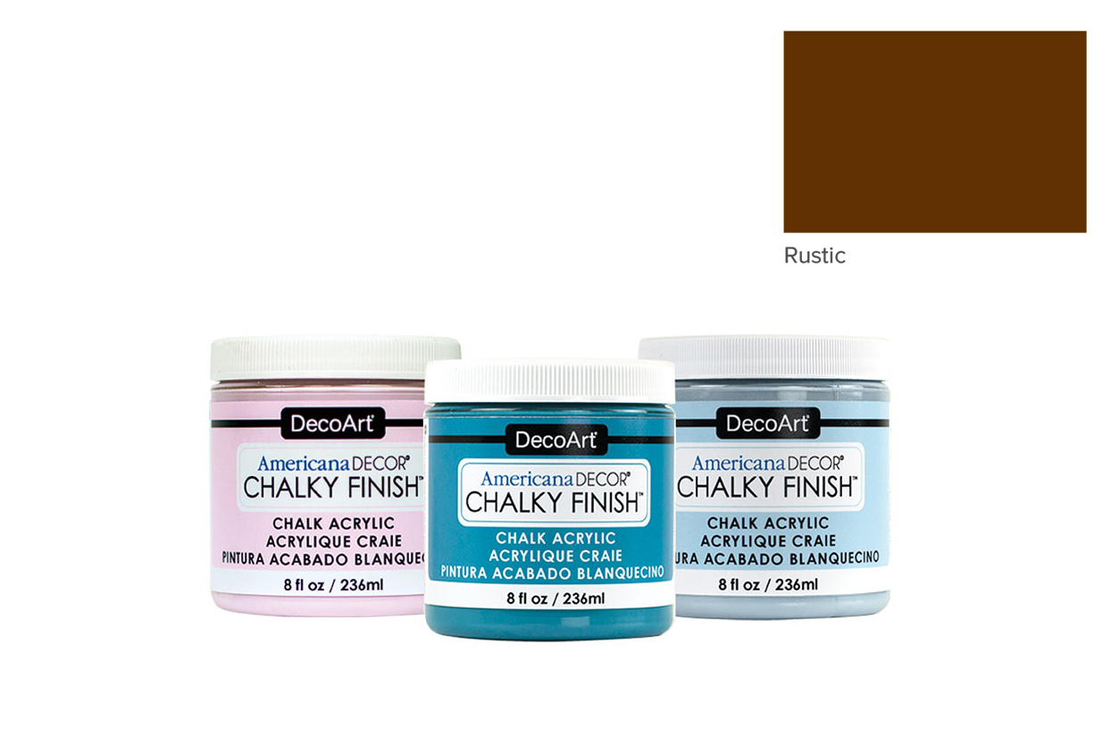 TINTA 236ML RUSTIC ADC25 CHALKY FINISH AMERICAN DECOR