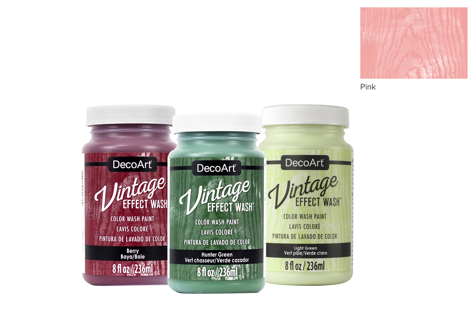 TINTA 236ML PINK DCW04 VINTAGE EFFECT WASH