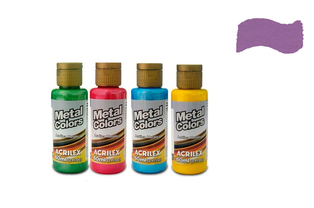 METAL COLORS 60ML MAGENTA 03660549 ACRILEX