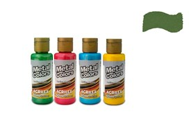 METAL COLORS 60ML GREEN OLIVE 03660545 ACRILEX