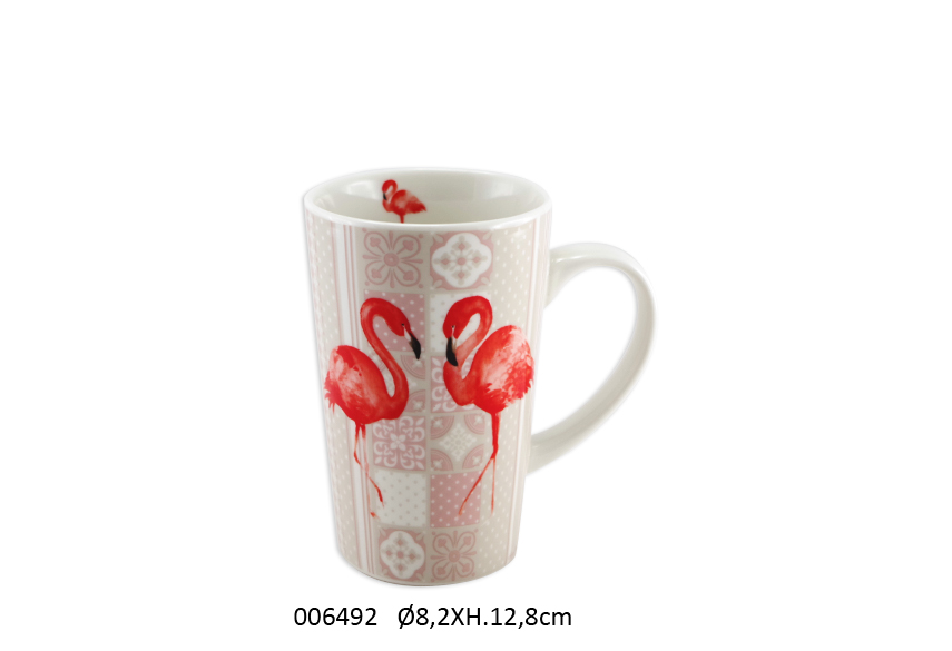 MUG D.8.2 X 12.8CM 400ML FLAMMY