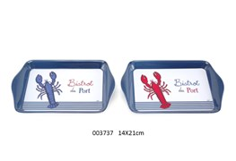 MEAL TRAY 14X21CM  LOBSTER