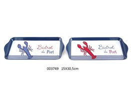 MEAL TRAY 15X30.5CM LOBSTER