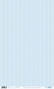 RICE PAPER 54X33CM STRIPES BLUE BABY PFY-1838