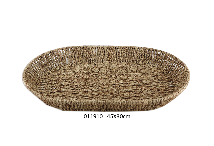 OVAL BASKET 45X30X5.5CM DELICE