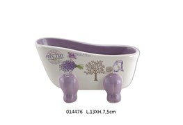 SOAP HOLDER BATH 13X7.5CM SENTEURS