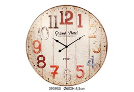 CLOCK GRAND HOTEL D.60X4.5CM COLOR