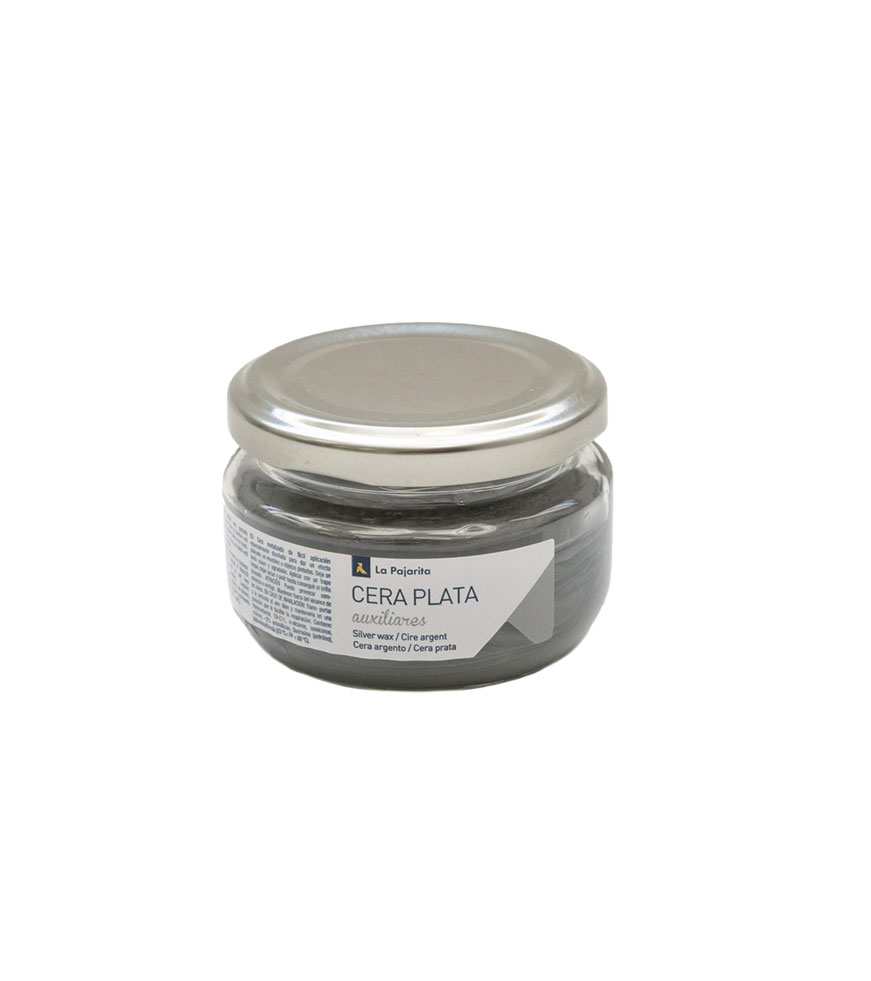 SILVER WAX METALIC 75ML 152041 PAJARITA