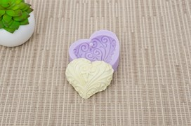 MOLD SILICONE 6.5X5.5CM MLD104 HEART1