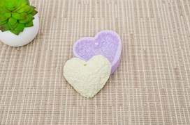 MOLD SILICONE 6.5X5.5CM MLD121 HEART7