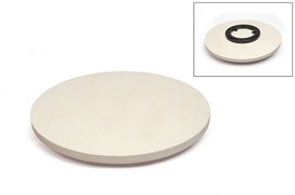 ROUND PLATE  W/ROTATION SYSTEM D.39X1.5CM
