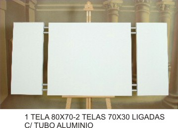 1 CANVAS 80x70 - 2 CANVASS 70x30