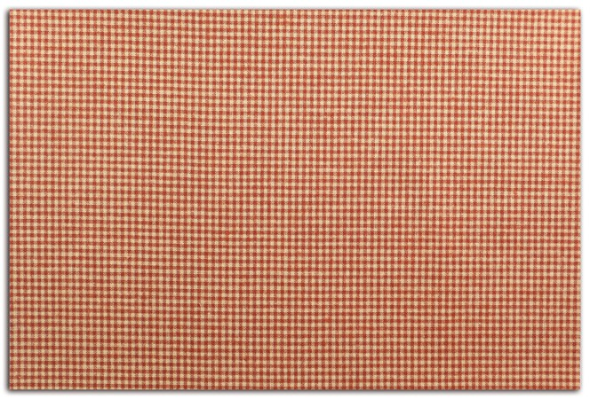 ADHESIVE FABRIC 21X30CM VICHY RED LKF35 TOGA