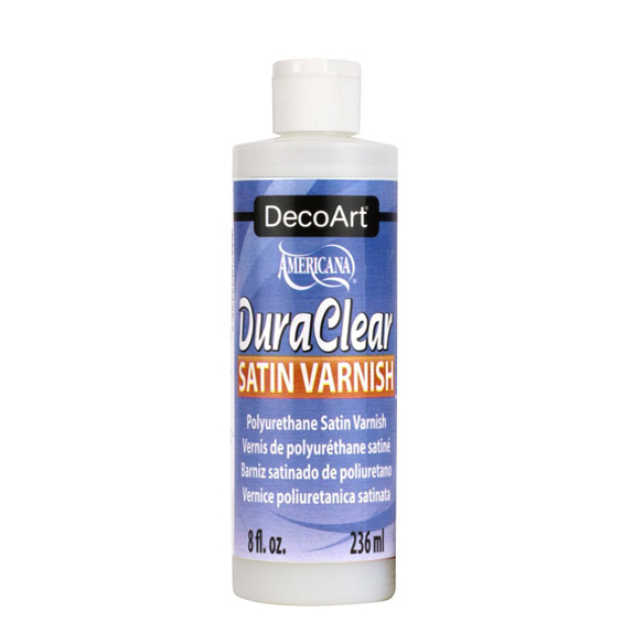 TRANSP. GLOSSY VARNISH DURACLEAR 236ML DS21