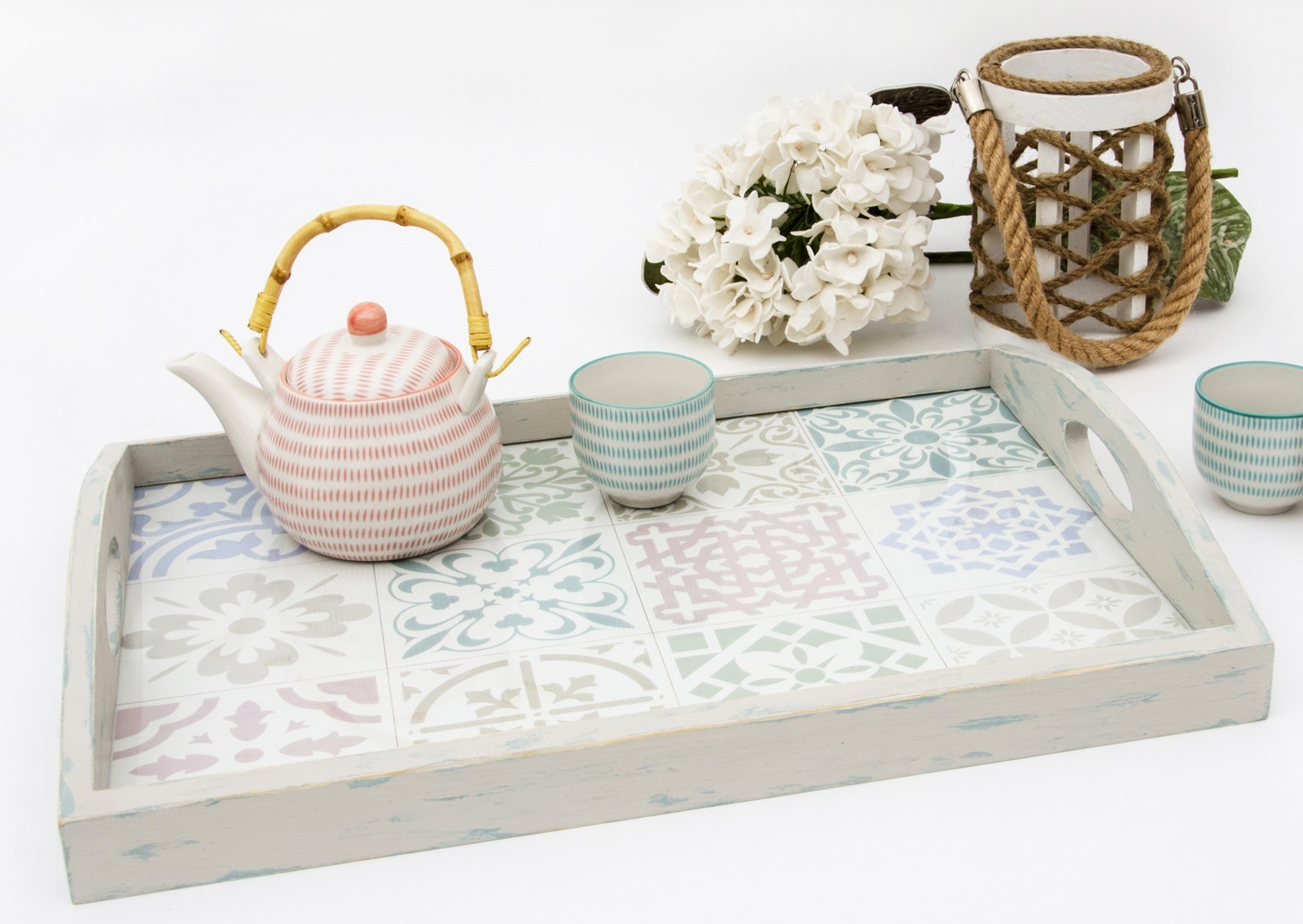 Pastel color tray